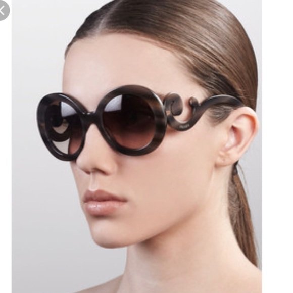 Prada Wooden Sunglasses